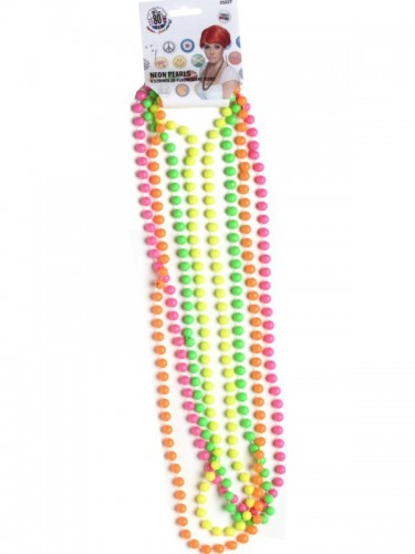 Party Beads Fluorescent 80's (Example Photo)