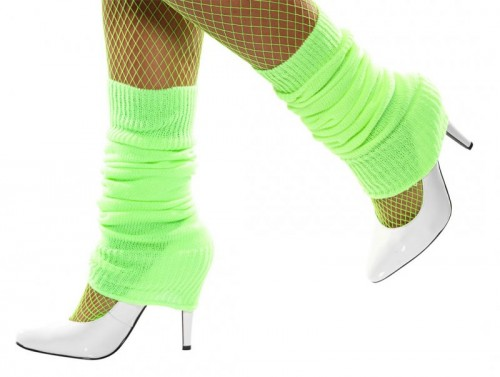 Legwarmer's Neon Green (Example Photo)