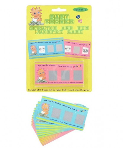 Baby Shower Scratch Cards (Example Photo)