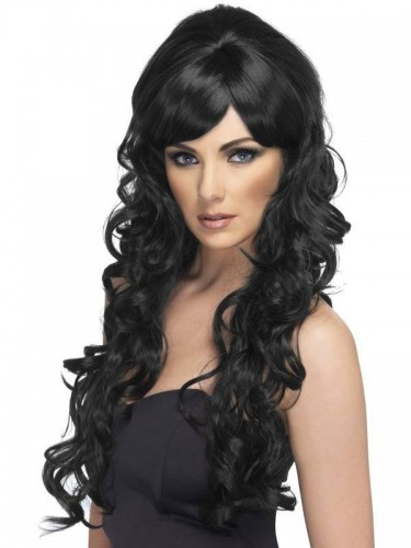 Pop Starlet Wig Black (Example Photo)