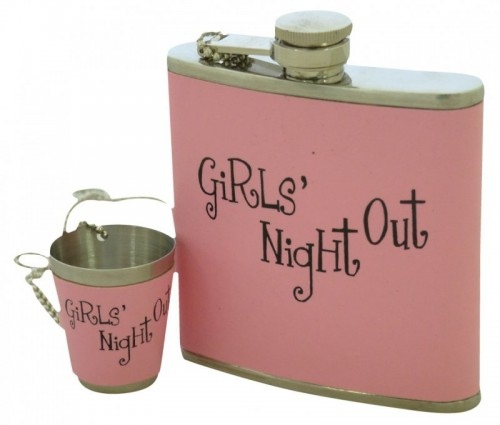 Hip Flask & Shot Glass (Example Photo)