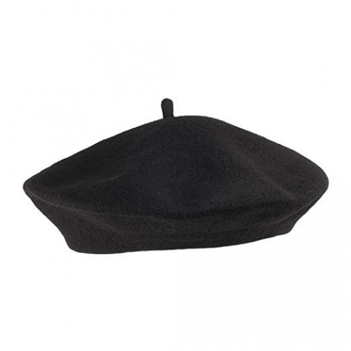 French Beret - Black (Example Photo)