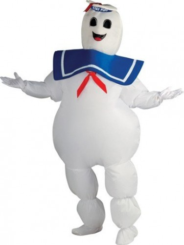 Marshmallow Man Ghostbusters Stay Puff Costume (Example Photo)