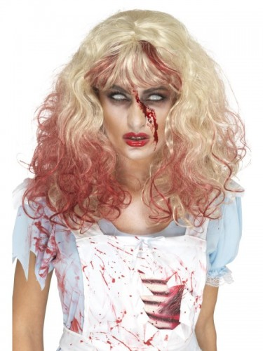 Zombie Bloody Alice Wig (Example Photo)