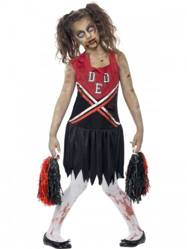 Zombie Cheerleader Costume  (Example Photo)