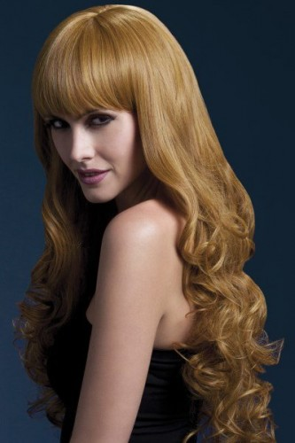 Fever Isabelle Wig, Long Auburn Wig (Example Photo)