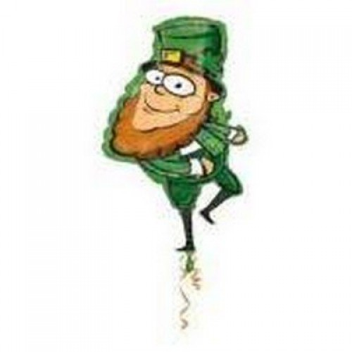 Super Shape St Patricks Day Foil Balloon (Example Photo)