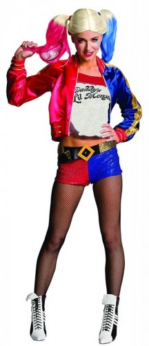 Women's DC Suicide Squad, Harley Quinn Costume,  (Example Photo)