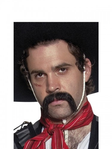 Authentic Western Mexican Moustache (Example Photo)