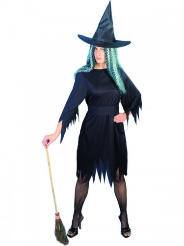 Spooky Witch Adult Costume  (Example Photo)