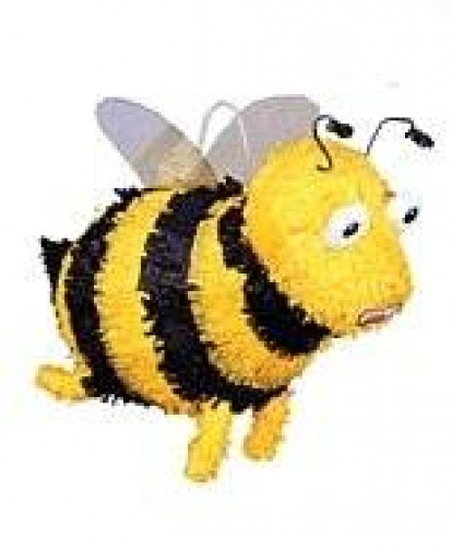 Bumble Bee Pinata Out of Stock (Example Photo)