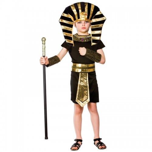 Egyptian Pharaoh Child Costume (Example Photo)