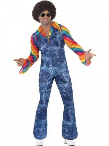 Groovier Dancer 70's Adult Men's Costume (Example Photo)