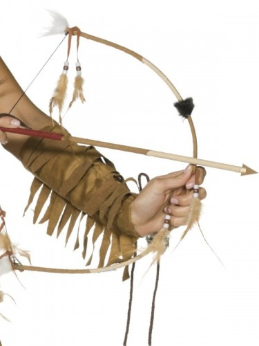 Indian Bow and Arrow Set Deluxe  (Example Photo)