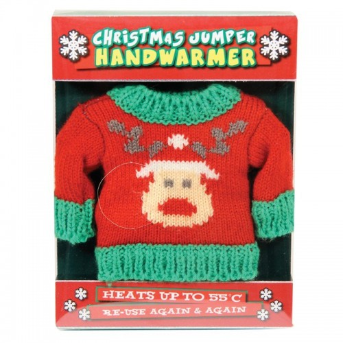 Christmas Jumper Handwarmer (Example Photo)