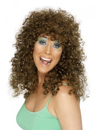 Boogie Babe Wig Brown (Example Photo)