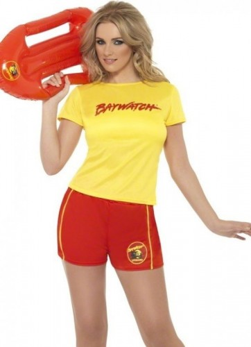 Womens Baywatch Costume (Example Photo)