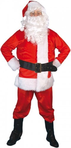Deluxe Santa Costume (Example Photo)