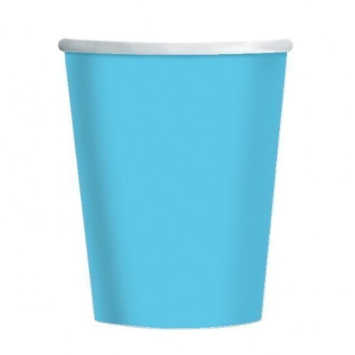 9oz White Paper Cups  (Example Photo)