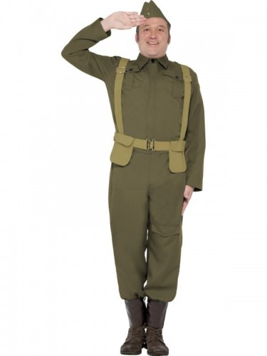 Ww2 Home Guard Private Adult Costume (Example Photo)