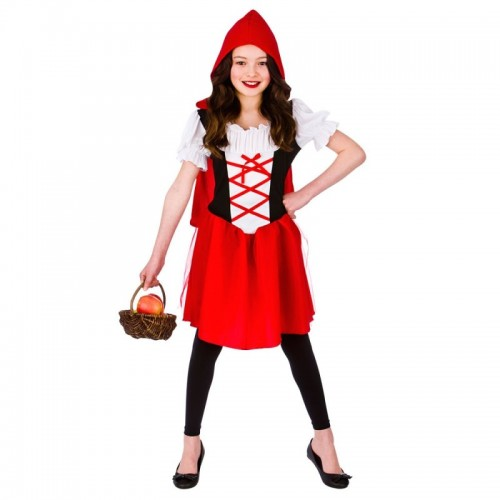 Little Red Riding Hood Child Costume (Example Photo)