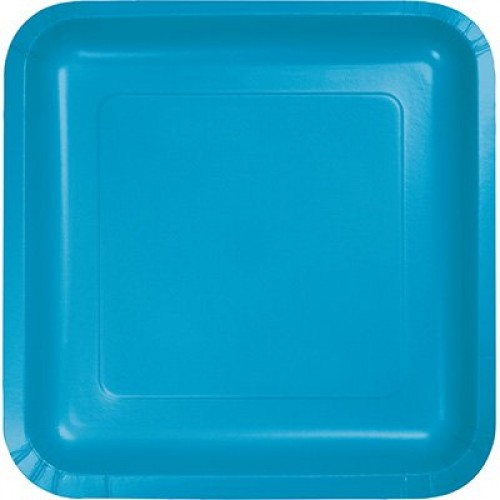 Square Party Plates (Example Photo)