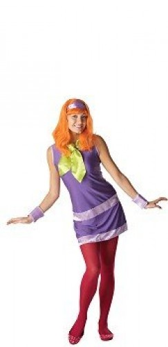 Daphne Adult Costume | Scooby Doo (Example Photo)