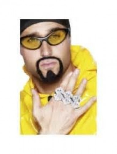 3 In 1 Dollar Rapper Ring (Example Photo)