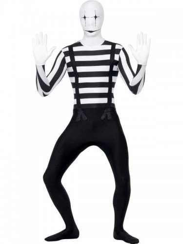Mime Second Skin Costume (Example Photo)