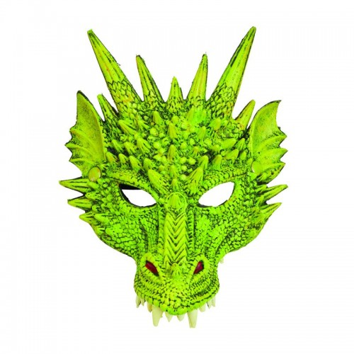 Dragon Mask (Green only) (Example Photo)