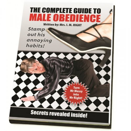 Blank Book - The Complete Guide To Male Obedience (Example Photo)