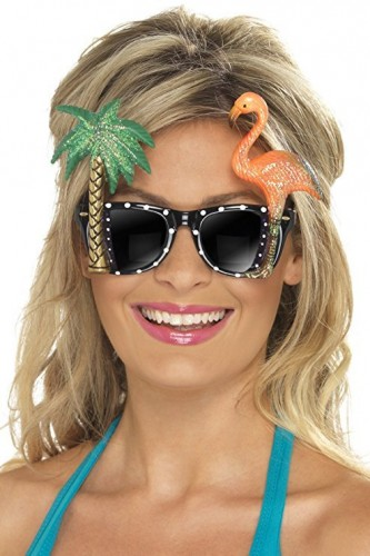 Adult Tropical Sunglasses (Example Photo)