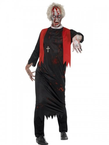 Zombie High Priest Adult Costume  (Example Photo)
