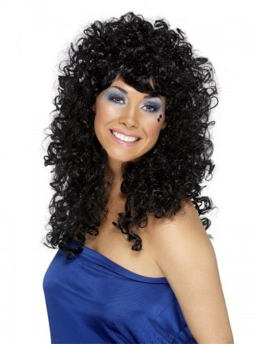Boogie Babe Wig Black (Example Photo)