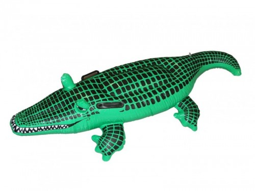 Inflatable Crocodile Black and Green (Example Photo)