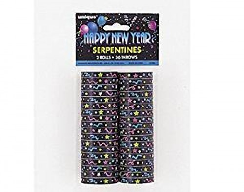New Years Eve Party Streamers (Example Photo)