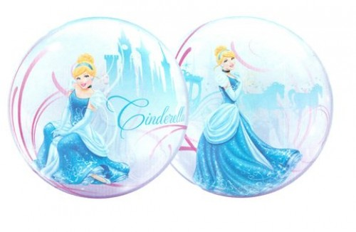 Cinderellas Royal Debut Bubble Balloon (Example Photo)