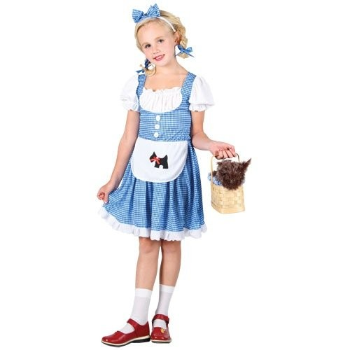 Storybook Dorothy Child Costume  (Example Photo)