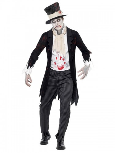 Till Death Do Us Part Zombie Groom  (Example Photo)
