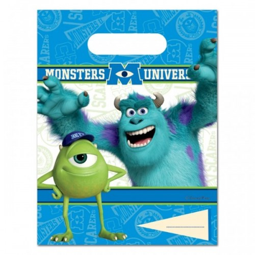 Monsters University Plastic Party/Loot Bag  (Example Photo)