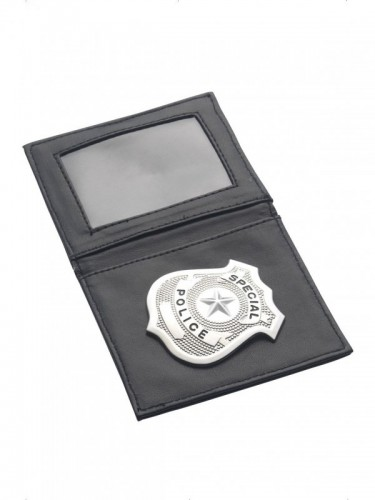 Police Badge & Wallet (Example Photo)