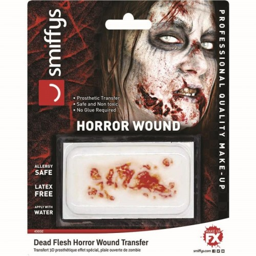 Horror Wound Transfer, Dead Flesh (Example Photo)