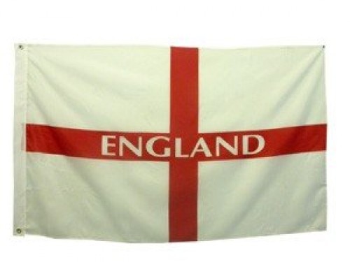 Flag 5ft x 3ft St George (England)  (Example Photo)