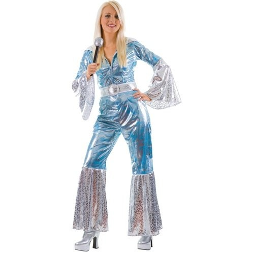 Waterloo Blue/Silver Adult Costume (Example Photo)