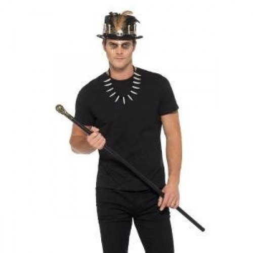 Voodoo Kit, with Feather Top Hat (Example Photo)