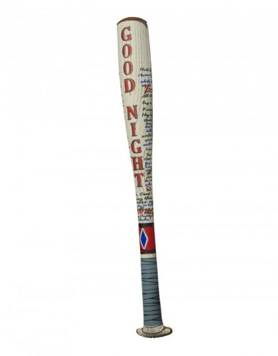 Harley Quinn's Inflatable Bat Suicide Squad Costume Accessory  (Example Photo)