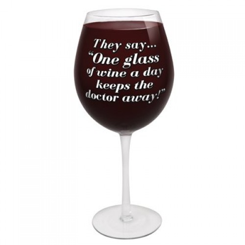 The World's Largest Wine Glass (Example Photo)