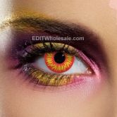 Wolf Eye Contact Lenses (pair)