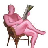 Morphsuit Pink - Adult Costume