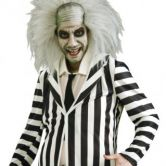 Beetlejuice Adult 80's Halloween Costume